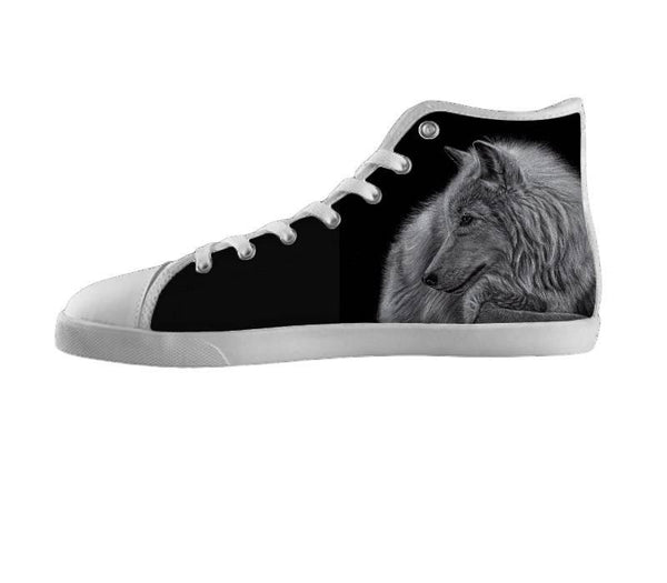 Winter is Coming White Wolf Shoes