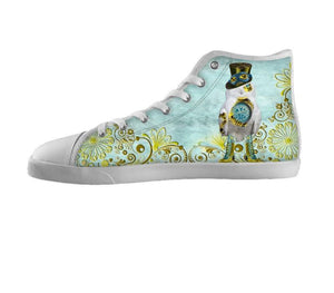 steampunk snowy owl shoes
