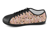 Chihuahua Shoes Women's Low Top / 5 / Black, Shoes - spreadlife, SpreadShoes  - 4