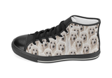 Poodle Shoes Women's High Top / 6 / Black, Shoes - spreadlife, SpreadShoes  - 2