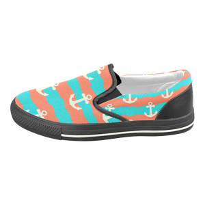 Anchored Down Slip On Shoes