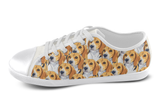 Beagle Shoes Women's Low Top / 5 / White, Shoes - spreadlife, SpreadShoes  - 3