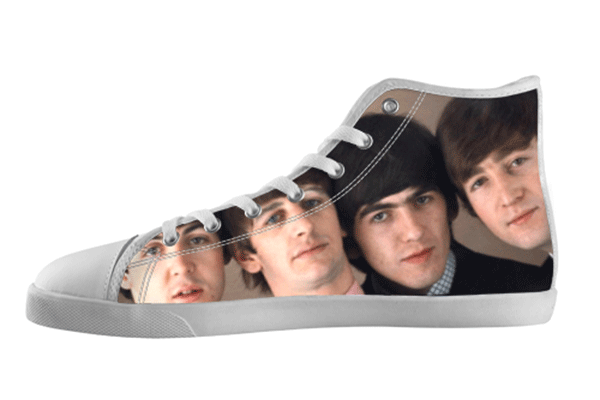 The Beatles Faces Shoes