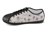 Bichon Frise Shoes Women's Low Top / 5 / Black, Shoes - spreadlife, SpreadShoes  - 4