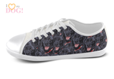 Black Labrador Shoes Women's Low Top / 5 / White, Shoes - spreadlife, SpreadShoes  - 3