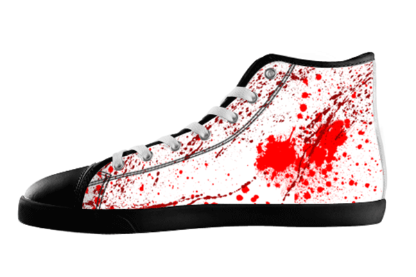 Blood Splatter Shoes