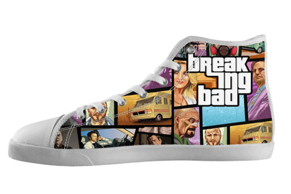 Grand Theft Breaking Bad Shoes Kid's / 1 / White, hideme - spreadlife, SpreadShoes  - 1