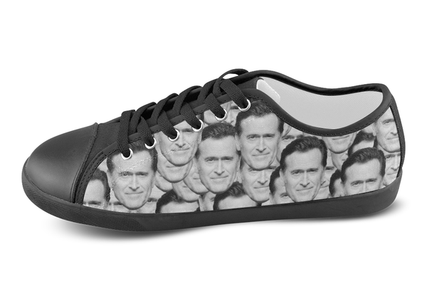Bruce Campbell Low Top Shoes