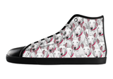 Bull Terrier Shoes Women's High Top / 5 / Black, Shoes - spreadlife, SpreadShoes  - 2