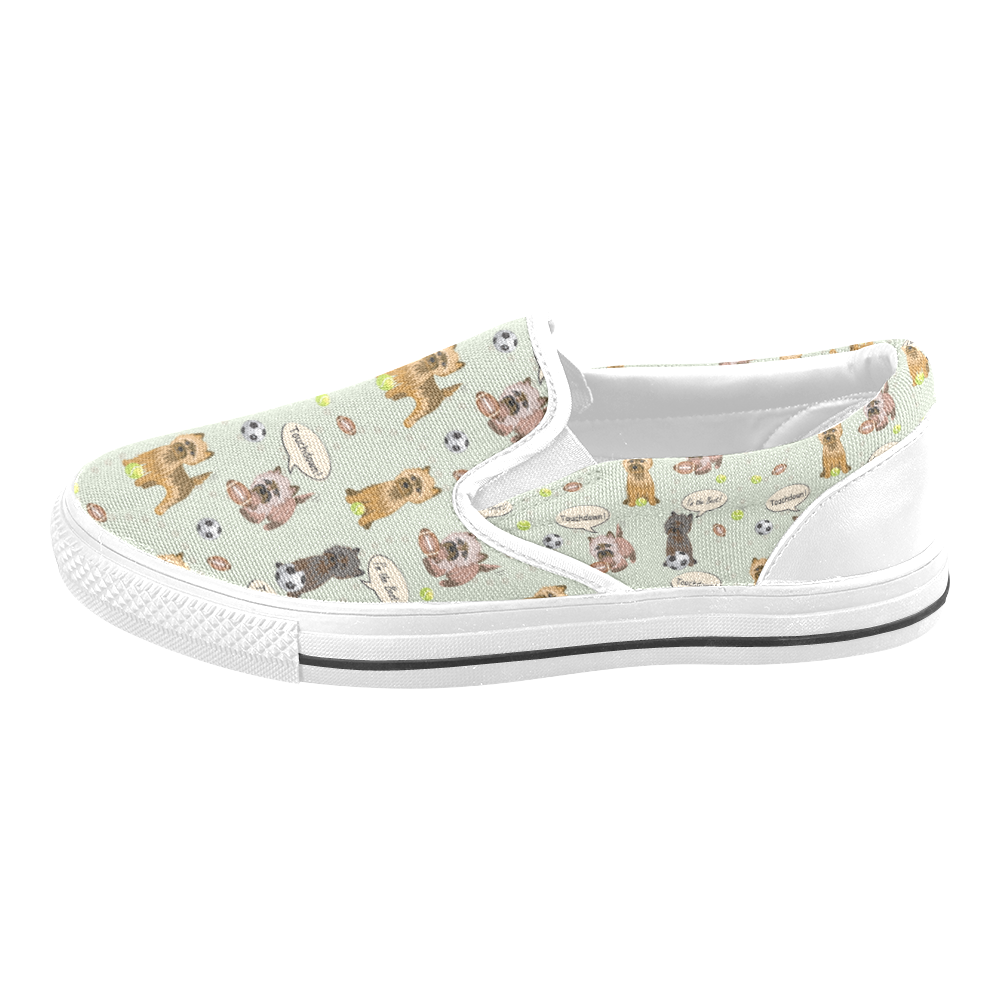 Cairn Terrier Slip On Shoes