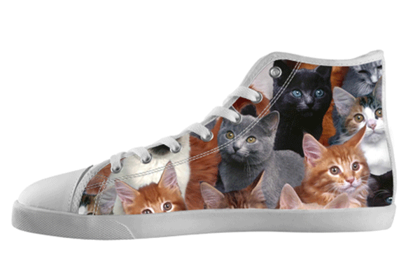 Kitten High Top Shoes