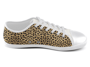 Cheetah Low Top Shoes , Low Top Shoes - SpreadShoes, SpreadShoes  - 2