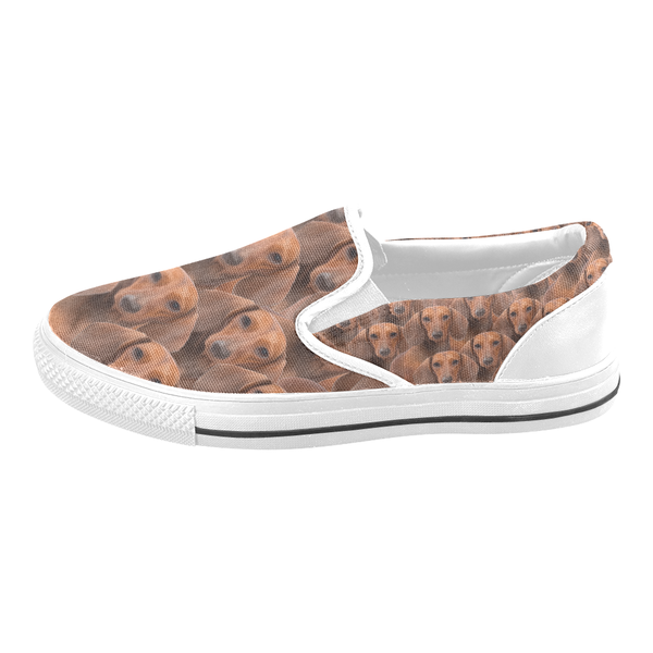 Dachshund Slip On Shoes
