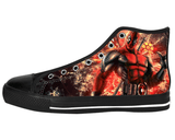 This Guy Deadpool Shoes Women's / 6 / Black Chunky, Shoes - spreadlife, SpreadShoes  - 2