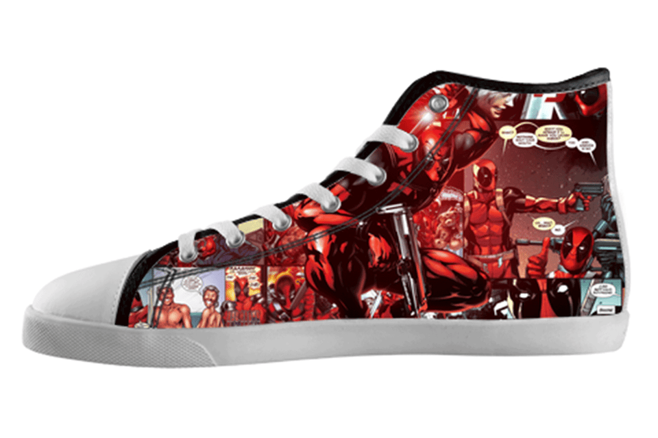 Deadpool Shoes Women's / 5 / White, Shoes - spreadlife, SpreadShoes  - 1