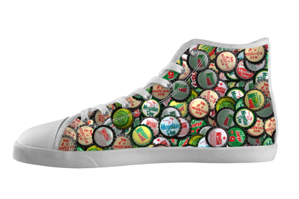 Mt Dew Bottlecaps Shoes