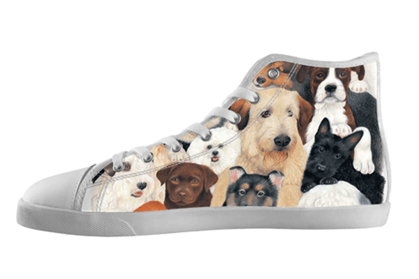 Doggie High Top Shoes