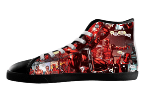 Deadpool Shoes Women's / 5 / Black, Shoes - spreadlife, SpreadShoes  - 3