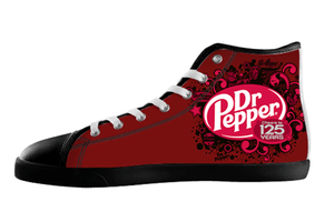 Dr. Pepper High Top Shoes Men's / 7 / Black, hideme - spreadlife, SpreadShoes  - 1