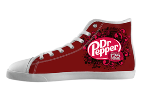 Dr. Pepper High Top Shoes Men's / 7 / White, hideme - spreadlife, SpreadShoes  - 3