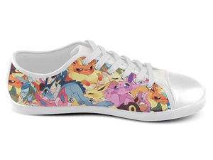 Eeveelution Low Top Shoes , Low Top Shoes - SpreadShoes, SpreadShoes  - 2