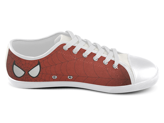 Eye of the Spider Low Top Shoes , Low Top Shoes - SpreadShoes, SpreadShoes  - 2