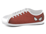 Eye of the Spider Low Top Shoes Women's / 5 / White, Low Top Shoes - SpreadShoes, SpreadShoes  - 1