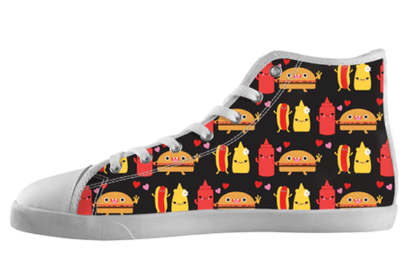 Cute Food BBQ Shoes