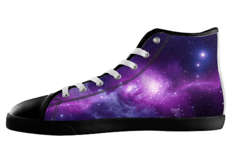 Galaxy High Top Shoes