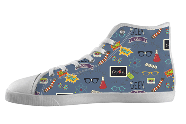 Geek Nerd Pattern Shoes