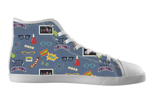 Geek Nerd Pattern Shoes , Shoes - spreadlife, SpreadShoes  - 2