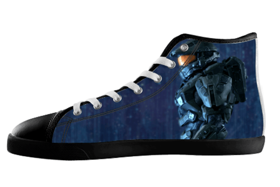 Master Chief Cortana High Top Shoes Women's / 5 / Black, Shoes - spreadlife, SpreadShoes  - 1