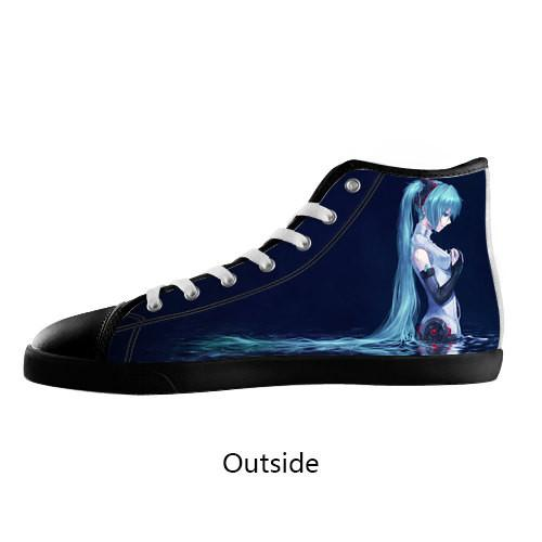 Vocaloid High Top Shoes Women's / 5 / Black, Unknown - spreadlife, SpreadShoes  - 1