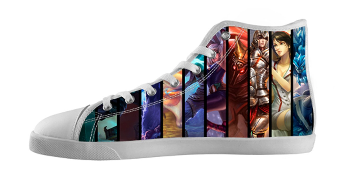 League Of Legends High Top Shoes Spreadshoes