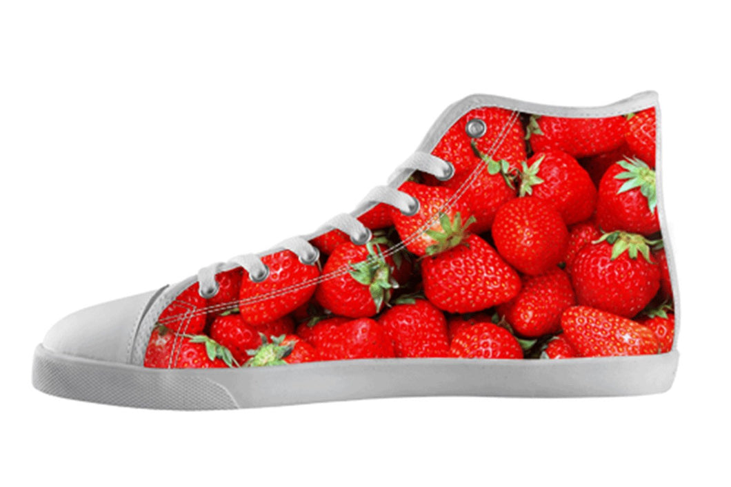Strawberry Cute Fruit Shoes Women's / 5 / White, Unknown - spreadlife, SpreadShoes