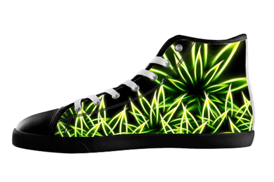 Weed / Marijuana Shoes Women's / 5 / Black, Shoes - spreadlife, SpreadShoes  - 1