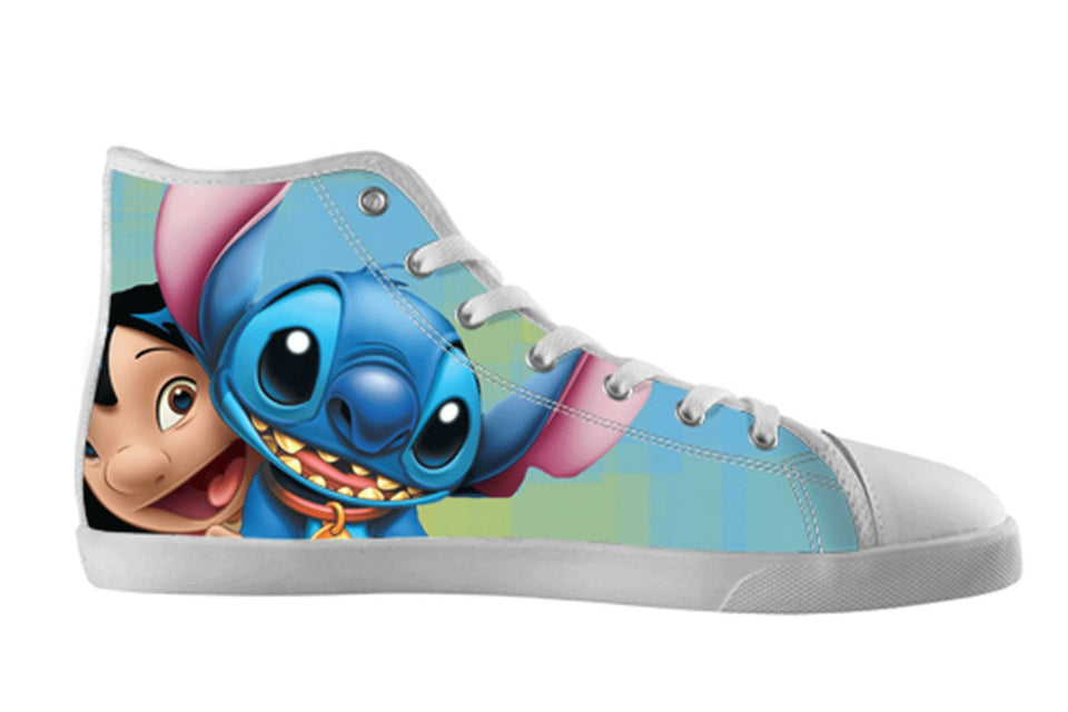 Lilo and Stitch Shoes Women's / 5 / White, Shoes - spreadlife, SpreadShoes  - 1