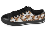 Jack Russell Terrier Shoes Women's Low Top / 7.5 / Black, Shoes - spreadlife, SpreadShoes  - 4
