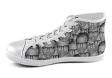 Jeff Goldblum Shoes Women's High Top / 5 / White, Shoes - spreadlife, SpreadShoes  - 1