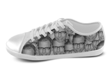 Jeff Goldblum Shoes Women's Low Top / 5 / White, Shoes - spreadlife, SpreadShoes  - 3