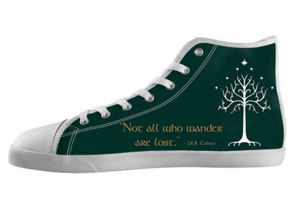 White Tree of Gondor Shoes Kid's / 1 / White, Shoes - spreadlife, SpreadShoes  - 1