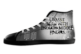 Antichrist Quote Shoes Women's / 5 / Black, Unknown - spreadlife, SpreadShoes