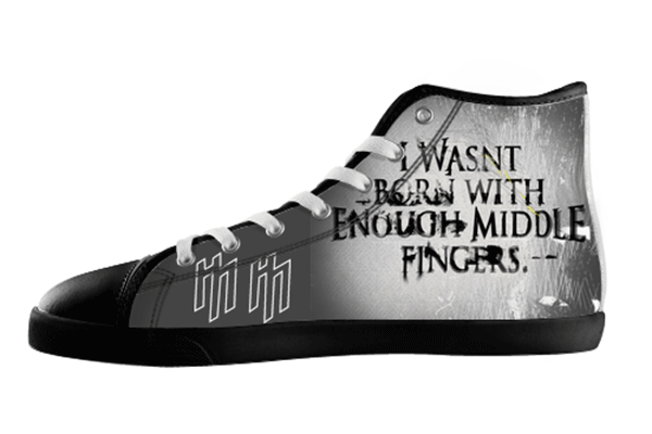 Antichrist Quote Shoes