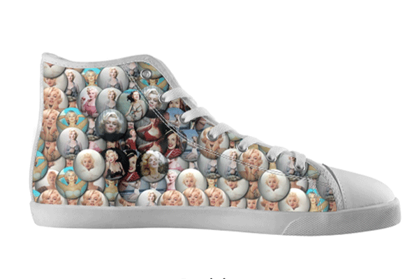 Marilyn Bubbles High Tops , hideme - spreadlife, SpreadShoes  - 2