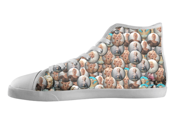 Marilyn Bubbles High Tops