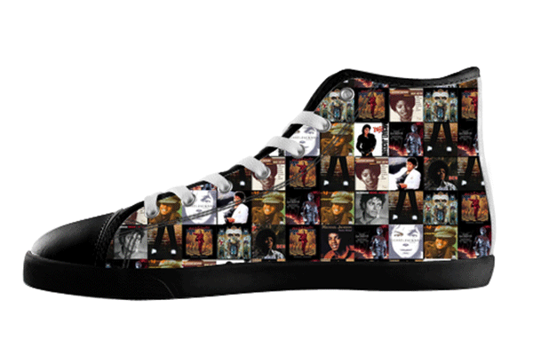 Michael Jackson Album Shoes