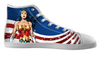 Custom Wonder Woman Shoes