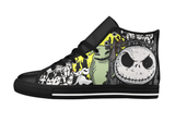 Jack's Halloween Leather Shoes Women's / 6 / Black, Shoes - spreadlife, SpreadShoes  - 1