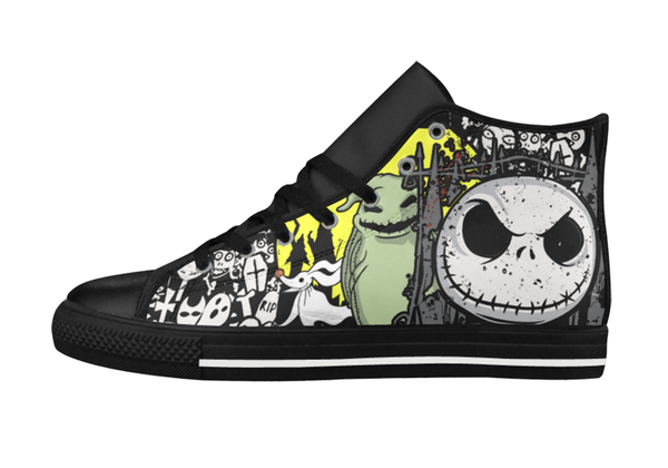 Jack's Halloween Leather Shoes