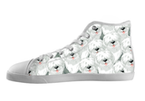 Old English Sheepdog Shoes Women's High Top / 5 / White, Shoes - spreadlife, SpreadShoes  - 1